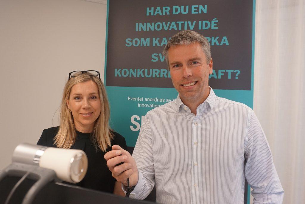 Jenny Greberg och Nicls Dahlström, Swedish Mining Innovation