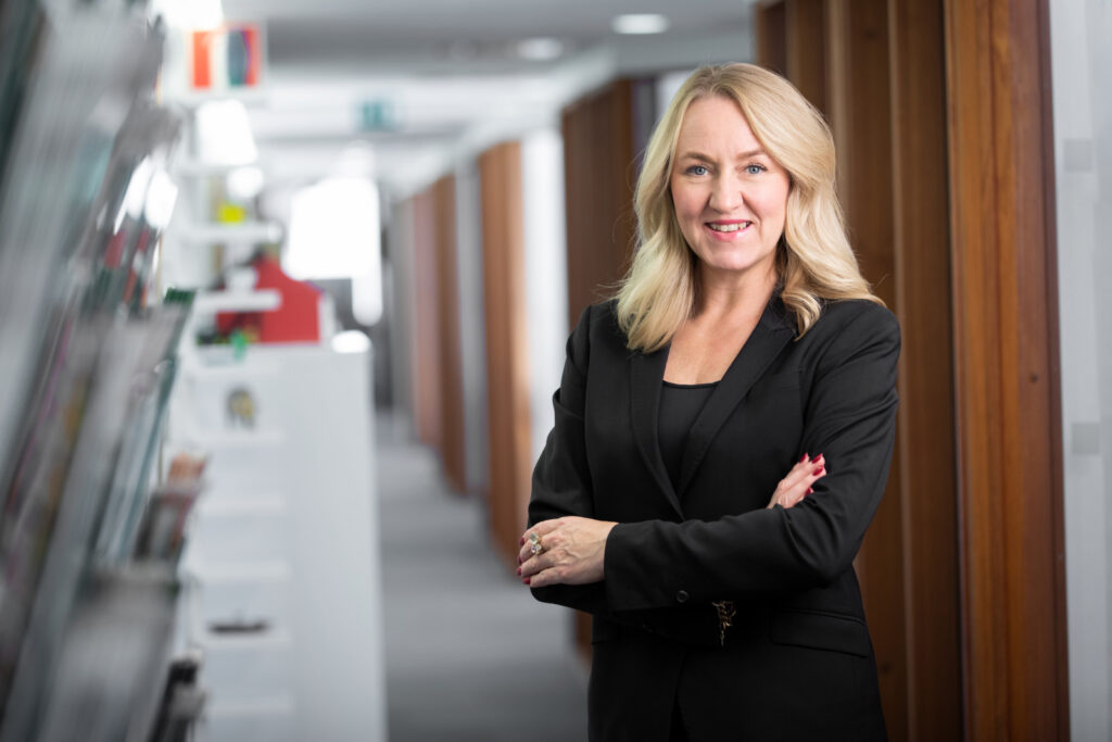 Maria Sunér, VD SVemin