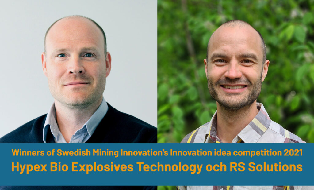 Thomas Gustavsson, CEO, Hypex Bio Explosives Technology AB and Jesper Martinsson, CTO, RS Solutions AB